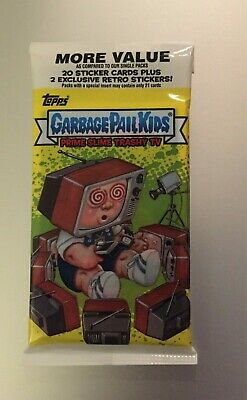 2016 GARBAGE PAIL KIDS PRIME SLIME TRASHY TV Fools Gold Parallel #/50 HOT PACK