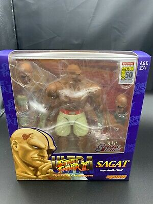 Sdcc Exclusive Storm Ultra Street Fighter 2 Sagat Usa Seller New
