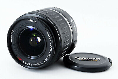 """MINT"" Canon EF-S 18-55mm f/3.5-5.6 USM Lens from Japan #1124"