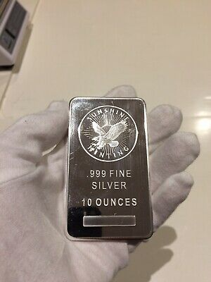 Sunshine Minting 10oz .999 Silver Bar