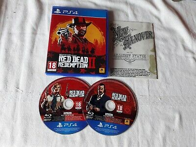 Red Dead Redemption II PS4 Game in GOOD Condition