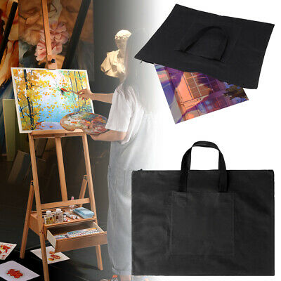 AU Art Painting Drawing Board Canvas Bag Folder Document Carry Cases A2