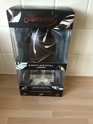Thorntons Continental Dark Chocolate Easter Egg + 8 Boxed Chocolates 256g