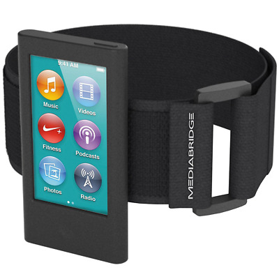 Mediabridge Sport Armband for iPod Nano - 7th Generation, black, never used