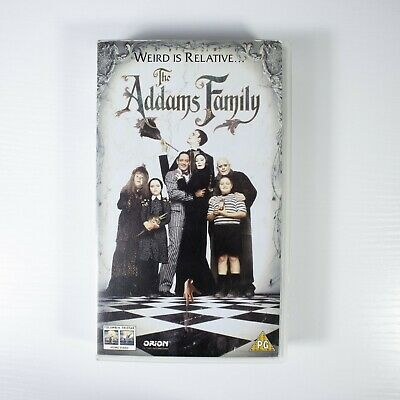 The Addams Family Original 1991 Vhs Video Tape Uk Pal