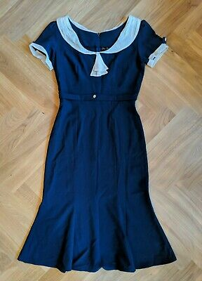 Stop Staring Repro Vintage Dress 1930s 1940s Bombshell L