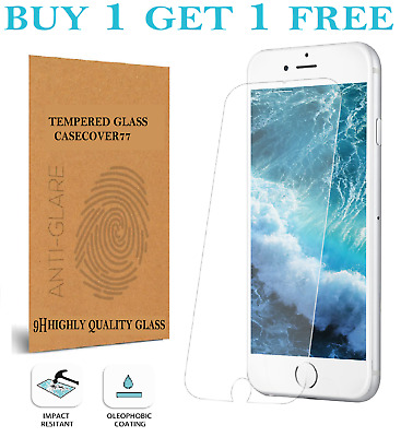 For iPhone 7 6 6s 5 8 Plus SE 2 2020 Gorilla Tempered Glass Screen Protector