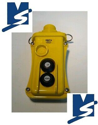 Magnatek SPB2 Hoist Crane Push Button Pendant Control Case Station