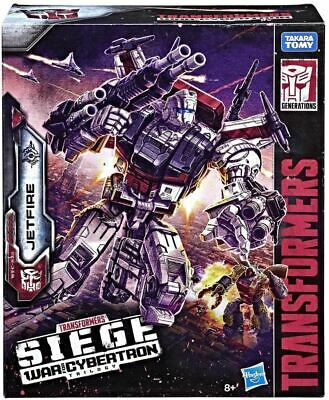 Transformers Generations War For Cybertron Siege Commander Class Jetfire
