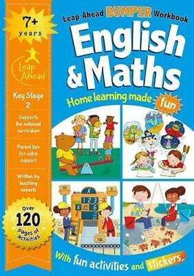 Leap Ahead Bumper Workbook: English and Maths 7+, , New condition, Book