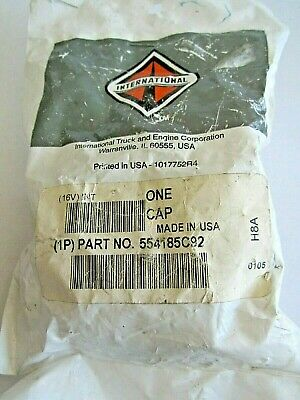 New International 554185C92 Locking Fuel Cap With Key