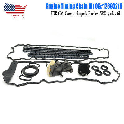 12693218 FOR GM ACDelco Camaro Impala Enclave SRX Engine Timing Chain Kit