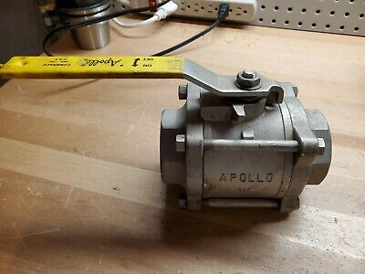 "New Apollo 2"", 1500 psi, 316 SS Ball Valve, NEW"