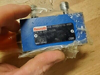 New Rexroth R900912757 Lfa 16 Db2-71/315