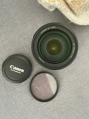 Canon EF 24-105mm f/4L IS USM Autofocus Wide Angle Telephoto Zoom Lens - Used