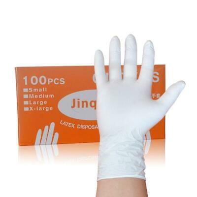 100pcs Waterproof Disposable Washing Cleaning Nitrile Gloves Work Safety Gloves