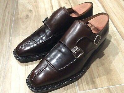Enzo Bonafe double monk shoes