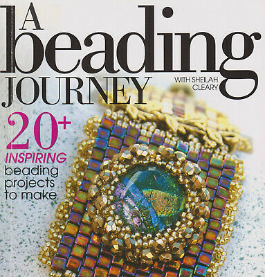 A Beading Journey with Sheilah Cleary 20+ great projects Mint Condition