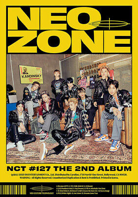 NCT 127 : The 2nd Album: NCT #127 Neo Zone CD (2020) ***NEW*** Amazing Value