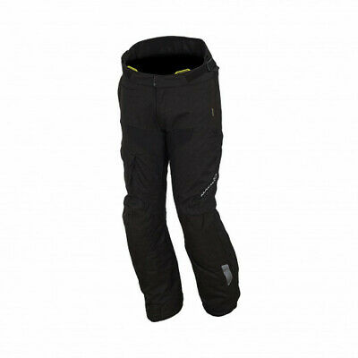 Macna Fulcrum Waterproof Textile Trousers - BLACK