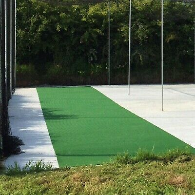 PVC Roll Down Cricket Matting [2m Wide] | **CLEARANCE PRICES** - Indoor/Outdoor
