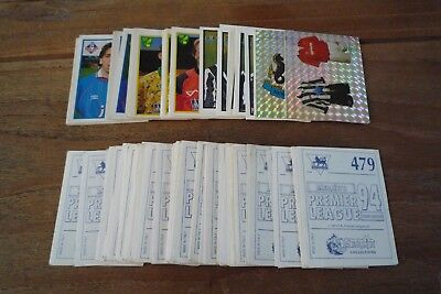 Merlin Premier League 94 Football Stickers no's 250-479 - Pick Stickers You Need