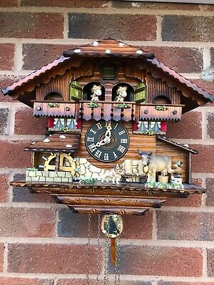 Genuine Black Forest Handcrafted Cuckoo Clock