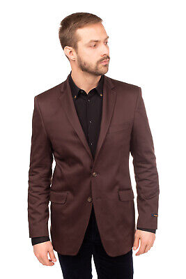 RRP €220 BALESTRIERI Blazer Jacket Size 52 Fully Lined Notch Lapel Made in Italy