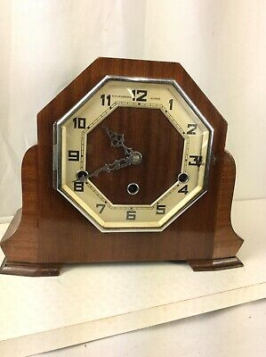 Art Deco Westminster Chime Mantle Clock