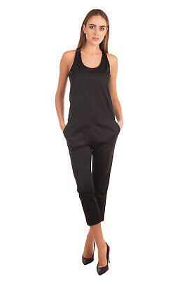 RRP €155 MANUEL RITZ Jumpsuit Size 40 Crossover Back Cropped Made in Italy