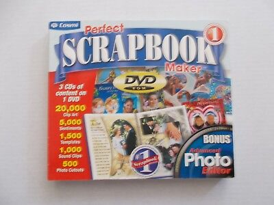 + PERFECT SCRAPBOOK MAKER [PC DVD-ROM] + PHOTO EDITOR (By COSMI)