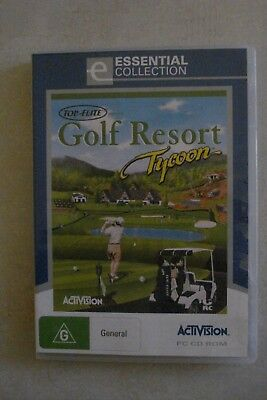 + Golf Resort Tycoon [Pc Cd-Rom] Brand New [Aussie Seller]