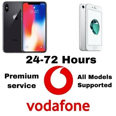 Vodafone Uk Iphone Unlock Iphone 3/4/5/6/7/8/X/XS/XR/11/11 PRO