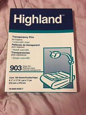 Highland Transparency Film 100cont.
