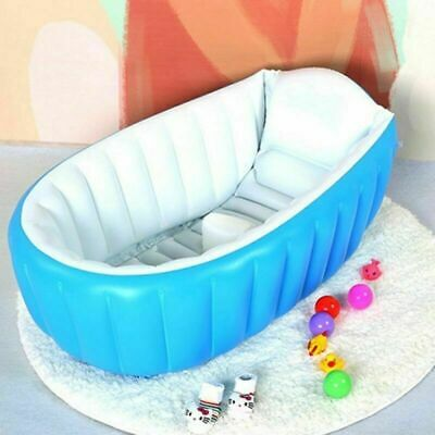 Inflatable Bathtub For Kid Baby Bath Portable Washbowl Shower Swimming Pool NEW