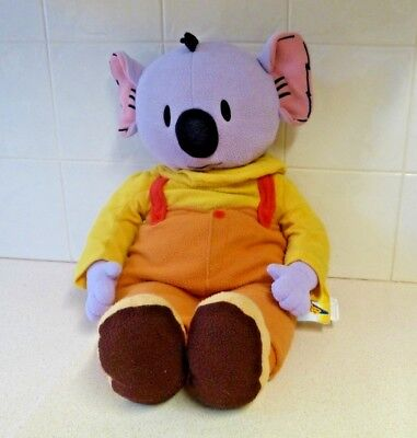 """Large Koala Brothers """"Buster"""" Plush Toy - 2005 - Spellbound/ Famous Flying Films"""