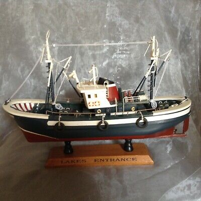 Model Boat On Stand Lakes entrance