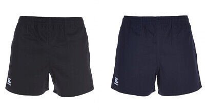 Canterbury Professional Match Cotton Rugby Shorts (with pockets) Size Teen-XXL
