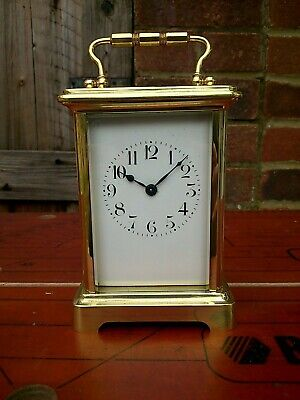 Brass French Carriage Clock