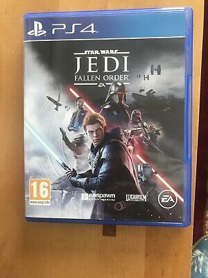 Star Wars JEDI: Fallen Order PS4 only played twice PlayStation 4 Game EA