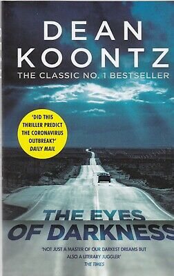 The Eyes of Darkness by Dean Koontz (PAPERBACK) Book