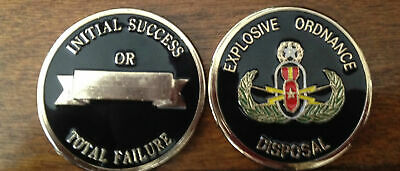 Challenge Coin EOD Army Bomb Disposal Final Limited 45 Coins!