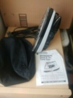 Black And Decker Stow away Steam And Dry Travel Irons.