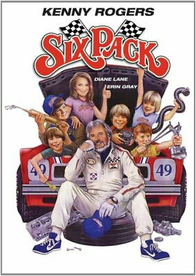 Six Pack (DVD) 1982 Kenny Rogers NEW & SEALED