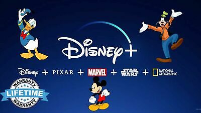 Disney Plus Access Account Subscription Lifetime Warranty