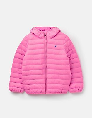 Joules Baby Girls 208961 Quilted Jacket - LIGHT PINK