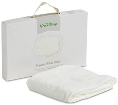 The Little Green Sheep Organic Cotton Crib Fitted Sheet