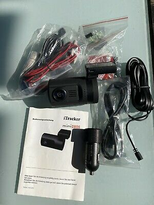 iTracker mini 0806 GPS Autokamera Full HD Dashcam incl. Pol Filter
