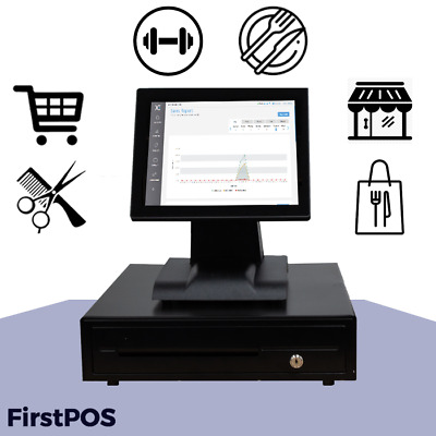 EPOS System for Restaurant, Fast Food, Retail, Bars/Pubs & Card Payment Machine