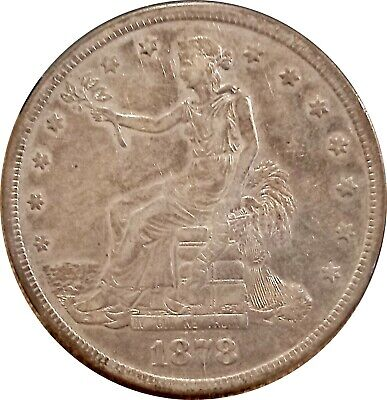 1878-S U.s. Trade Dollar ~ Nice Extremely Fine ~ Lots Of Luster